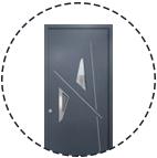 Découvrez les portes d'entrée de la collection Alu