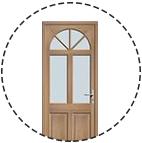 Découvrez les portes d'entrée de la collection bois