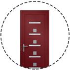 Découvrez les portes d'entrée de la collection PVC