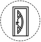 Découvrez les portes d'entrée de Leul Menuiseries