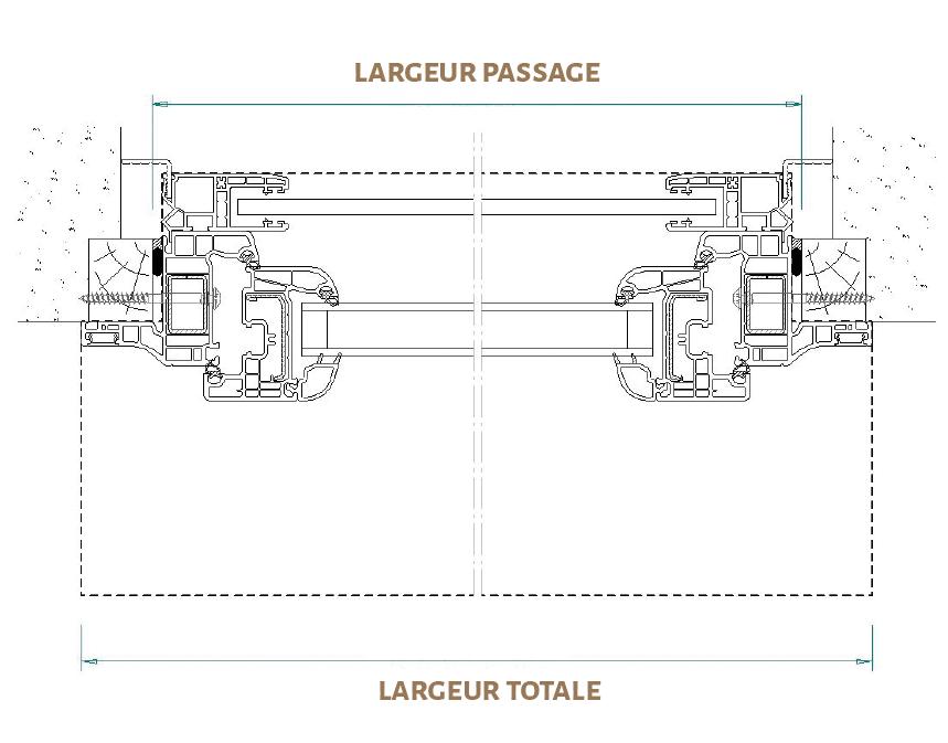 plan des finitions de LEUL
